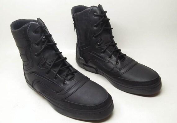 Leder Frauen StiefelSneaker Männer Schwarze Handgemachte SchuheMarapulai Sneakers USzMVp