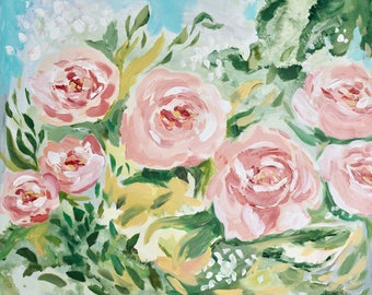 Abstract Roses fine art print
