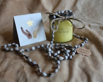 Handmade Holiday Shine On Set with Moisturizer & Necklace in Lavendar