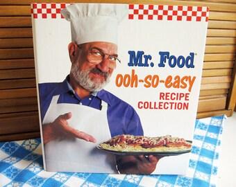 Mr. Food Ooh-So-Easy Recipe Collection Book, Vol. 1