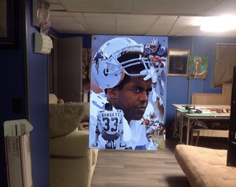 vinyl banner Huge 43x27 TIM TEBOW Poster florida gators ART New york Mets football baseball ezekiel elliott peyton manning tom brady