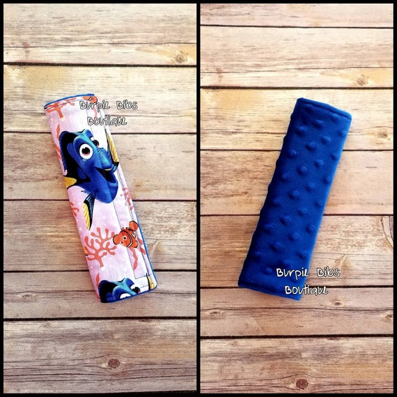 Terrific Finding Nemo Seat Belt Cover Dory Seat Belt Cover Disney Seat Belt Cover Nautical Strap Pad Fish Padded Carseat Strap Covers Clownfish Spiritservingveterans Wood Chair Design Ideas Spiritservingveteransorg