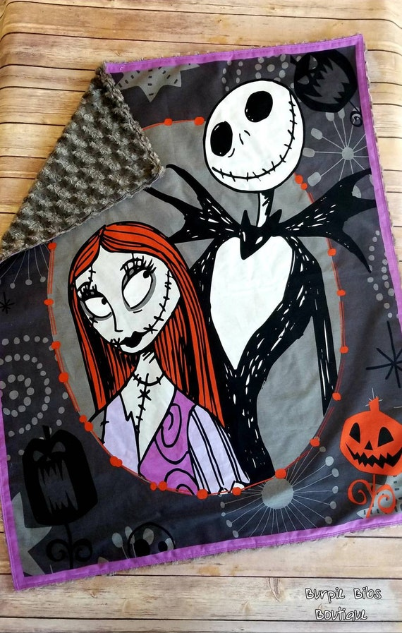 Nightmare Before Christmas Blanket Nbc Blanket Disney Nbc Etsy