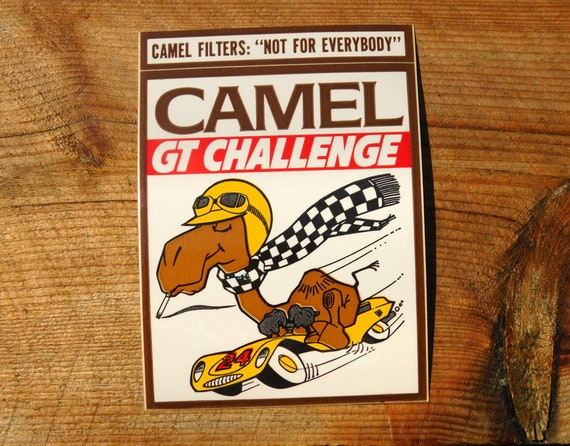 New Vintage Embroidered Camel GT Tobacco Patch