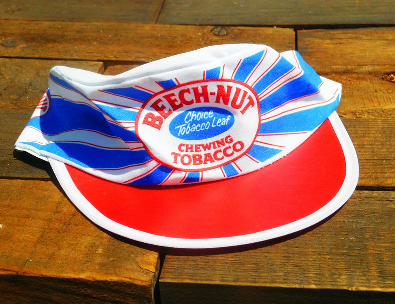 Vintage Rare Beech Nut Chewing Tobacco Cycling Painters Hat Etsy