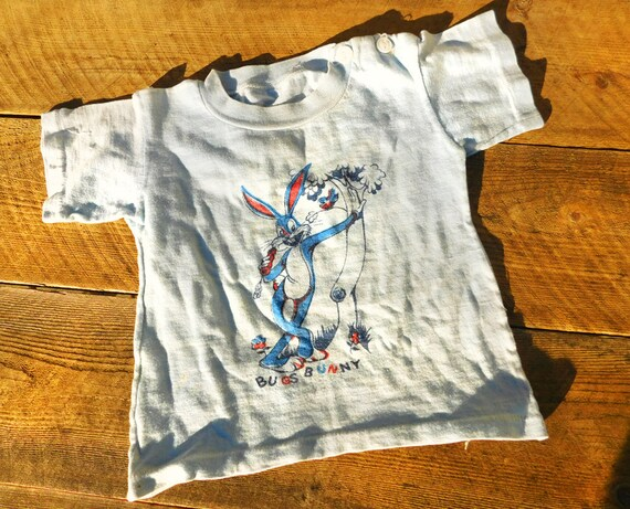 Vtg 50s Bugs Bunny Toddler T-Shirt