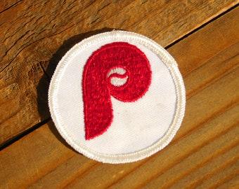 Vintage 70s Philadelphia Phillies Sew On Patch