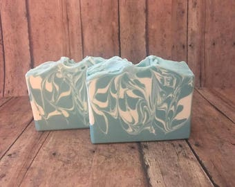 Calming Waters Cold Process Handmade Soap
