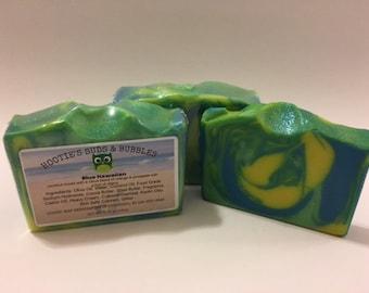 Blue Hawaiian Cold Processed Handmade Soap