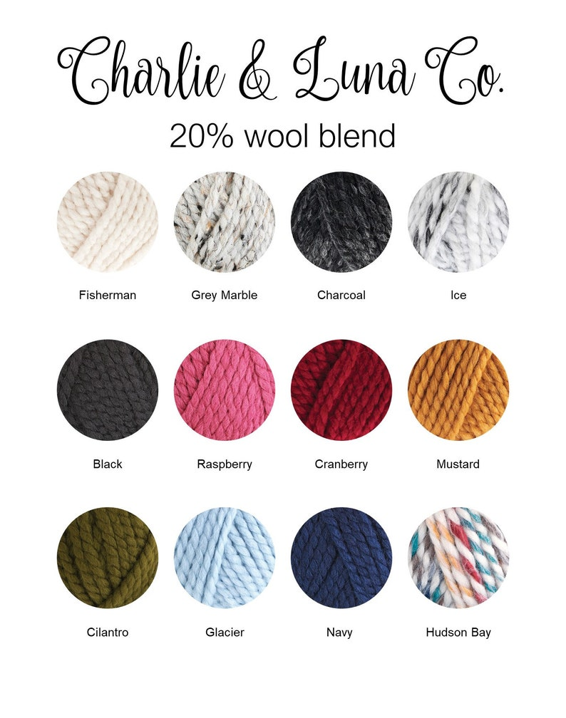 0ed5e92c018 Braided Cable Knit Beanie Choose Your Color Charlie   Luna