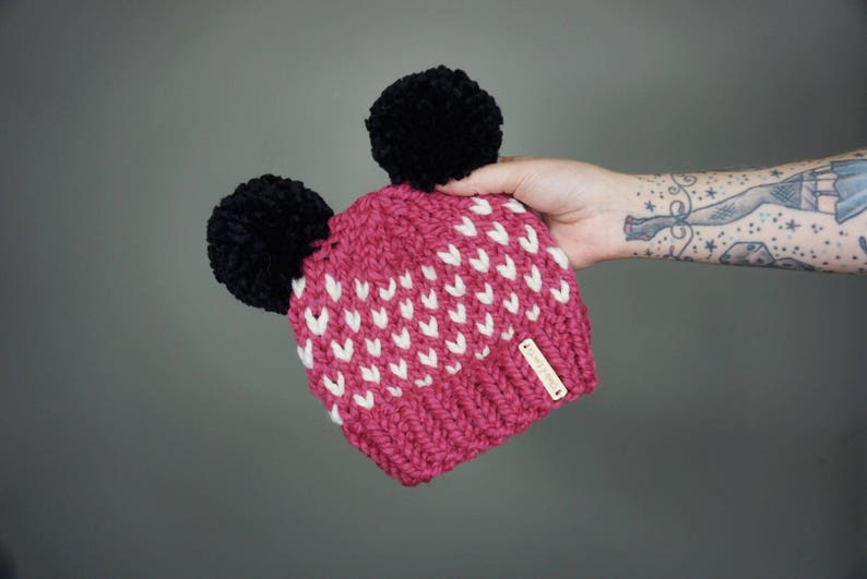 3a1c95d7f84 Minnie Mouse Hat Baby Adult Charlie   Luna Co. Handmade