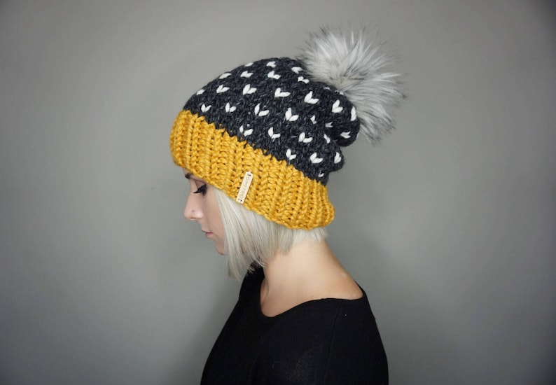 477e18482e6 The Lila Beanie in Indie Charlie   Luna Co. Unisex Faux