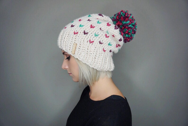 57a5a31b173 The Unicorn Beanie Charlie   Luna Co. Multicolored Hat