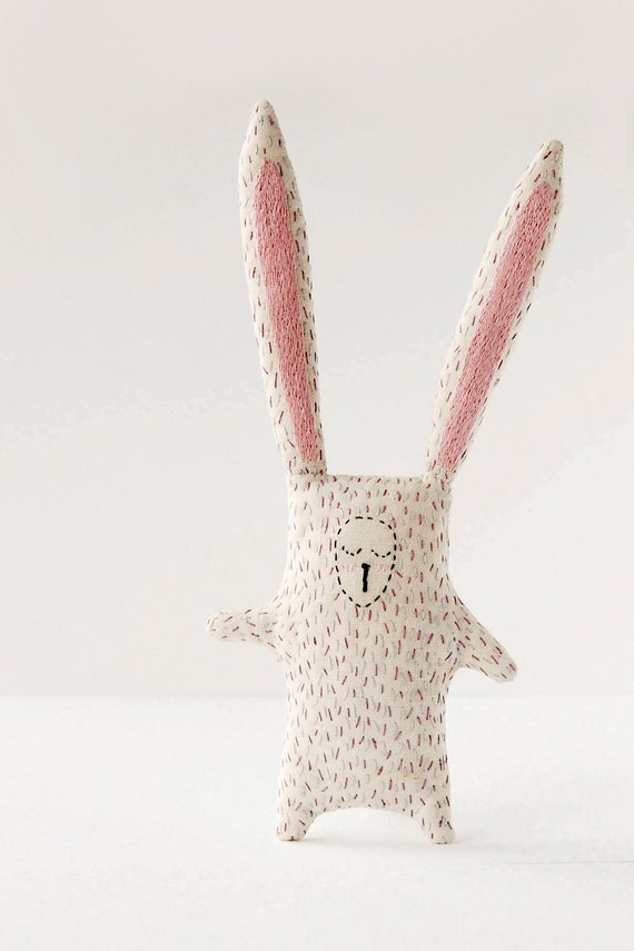Cute Bunny Plush Baby Soft Toy Christmas Gift Woodland Etsy