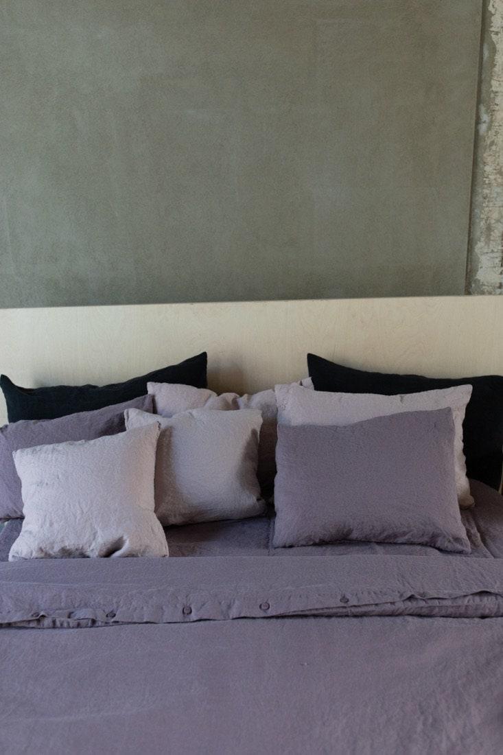 Couverture de couette de lin, literie en lin naturel. Queen, King, Twin, Full, Custom Size NEW MOOshop lin colours