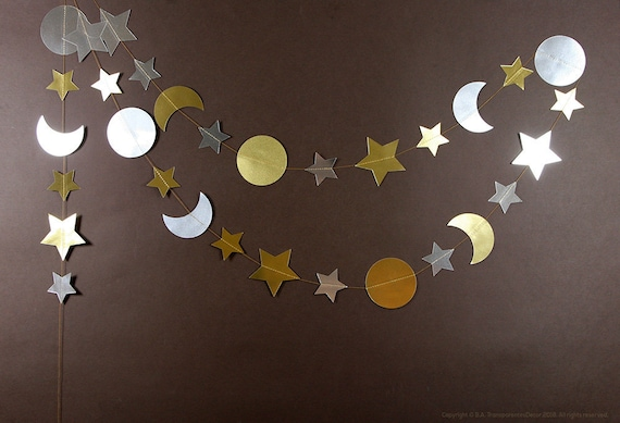 I Love You To The Moon And Back Decorations Gold And