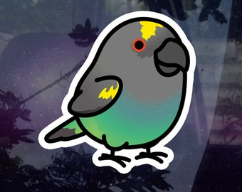"""Chubby Meyers Parrot 3.5"""" Sticker [Outdoor Quality]"""