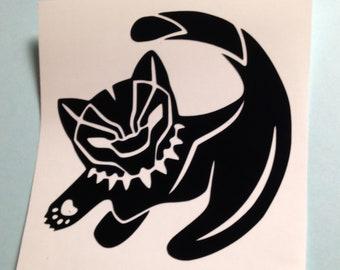 Black Panther Simba Decal