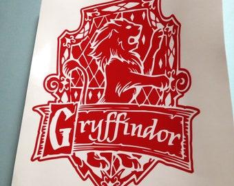 Gryffindor Decal