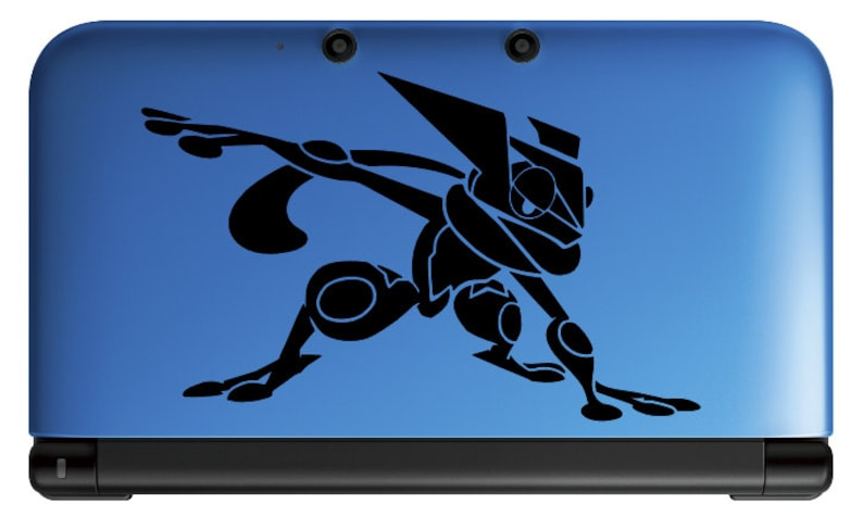 Greninja Vinyl Decal  Pokemon  Vinyl Decal Gamer Gift Car image 0
