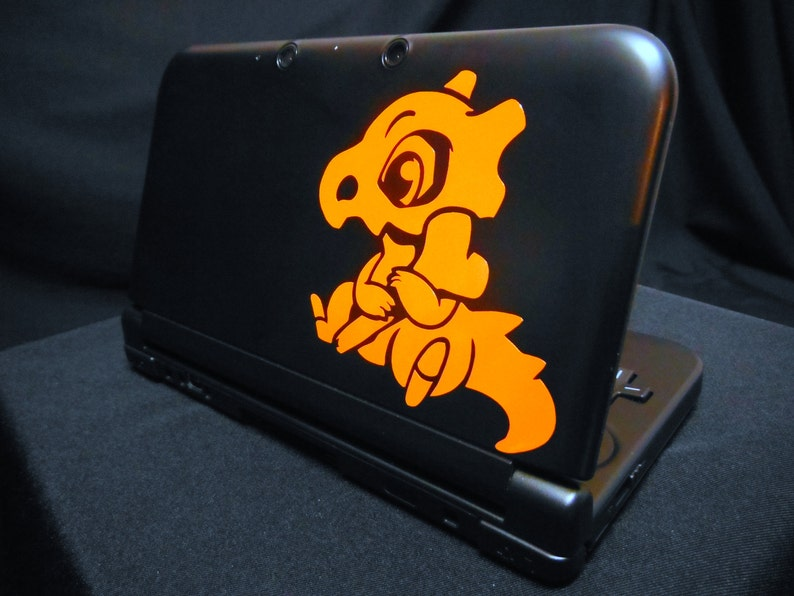 Cubone Vinyl Decal  Pokemon  Vinyl Decal Gamer Gift Car image 0