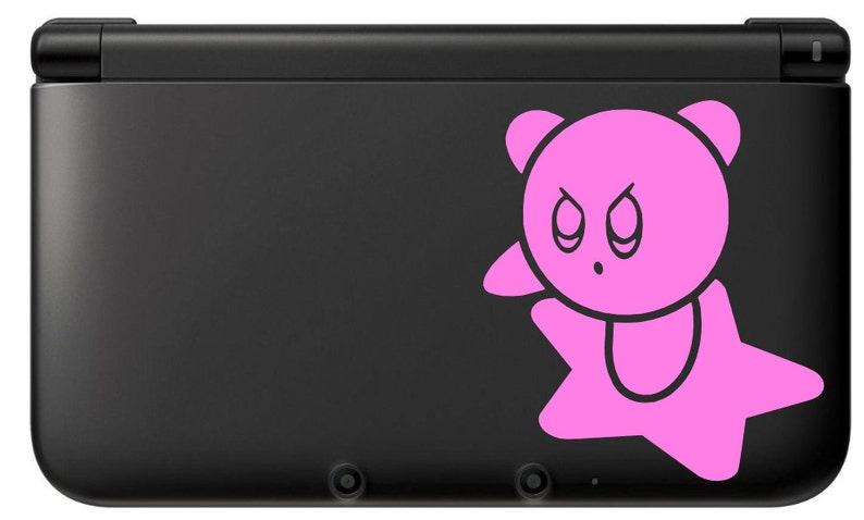 Kirby  Star Vinyl Decal  Kirby  Vinyl Decal Gamer Gift Car image 0