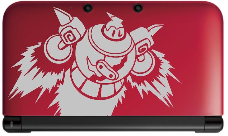 Flying Golurk Vinyl Decal  Pokemon  Vinyl Decal Gamer Gift image 0