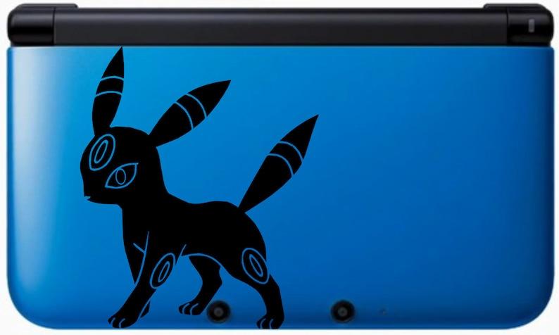 Umbreon Vinyl Decal  Pokemon  Vinyl Decal Gamer Gift Car image 0