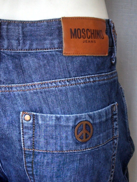 90s MOSCHINO Boyfriend Jeans