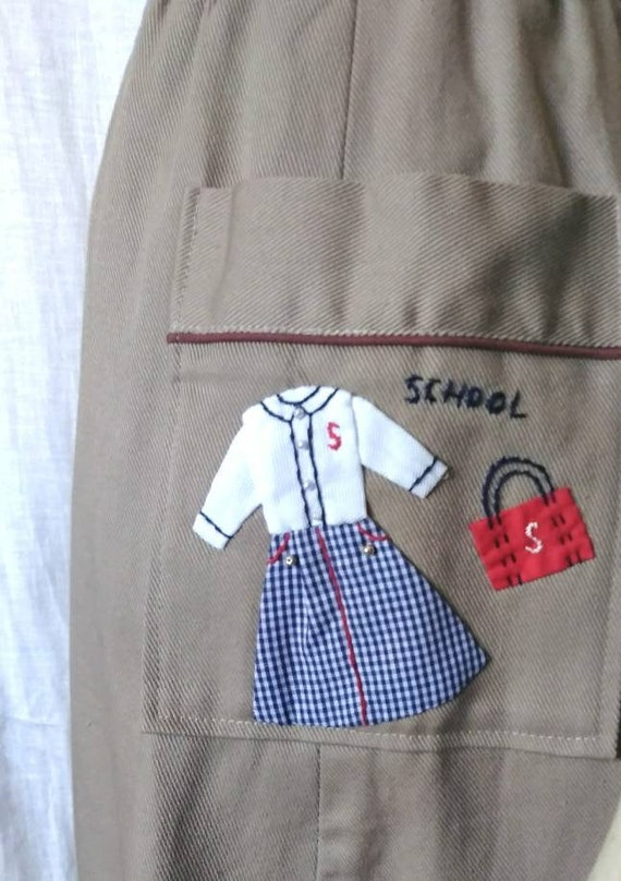 90s School Girl Culotte - Japan