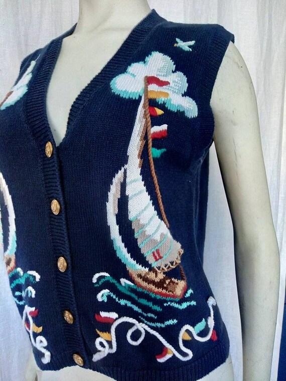 Seven Seas Knit Vest