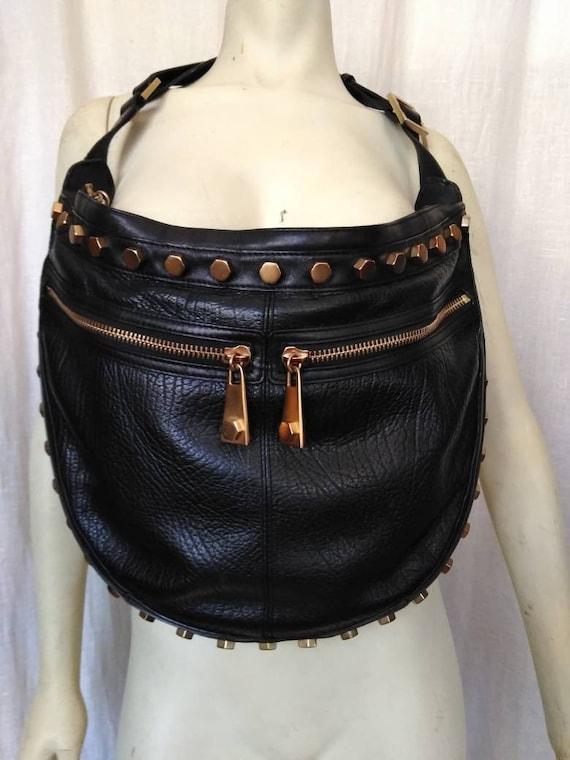 Half Moon Heavy Metal Handbag