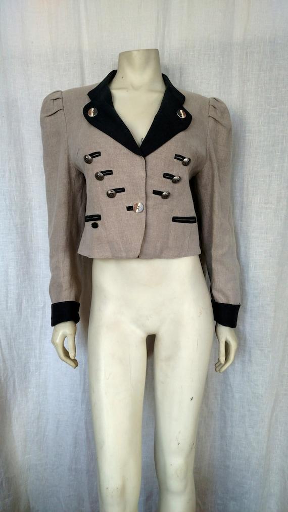 80's Trachten Military Jacket