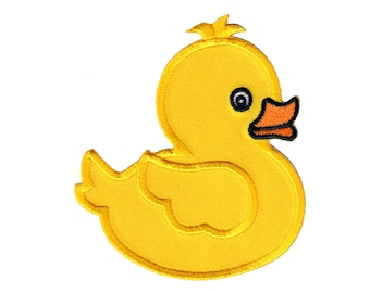CHOOSE 3 yellow or white duck applique patch Easter patch