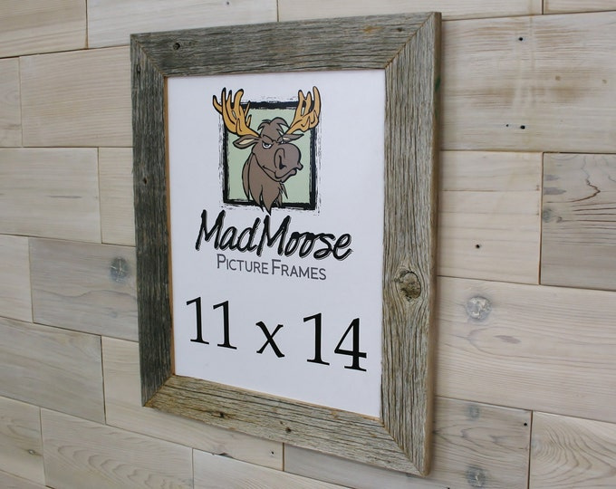 11x14 Barn Wood Picture Frame - Classic 2""