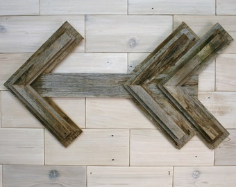 Barn Wood Arrow Wall Decor