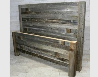Barn Wood Headboard & Footboard | all bed sizes | Texture Horizon Design