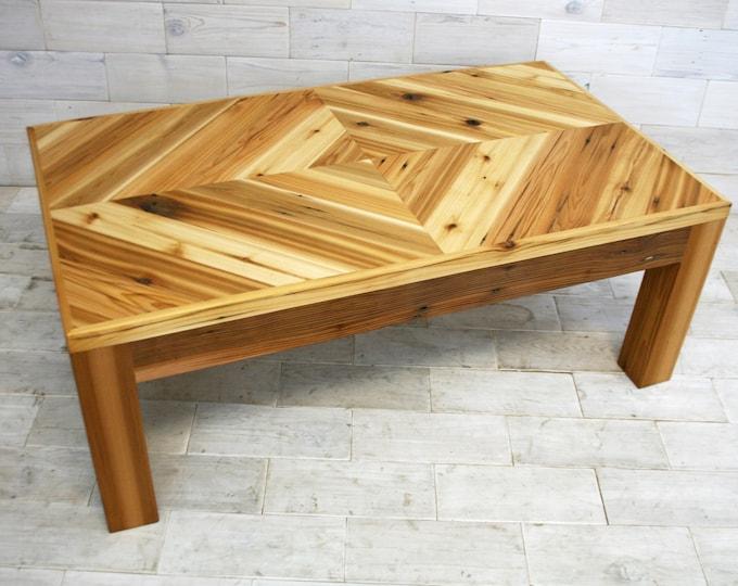 Reclaimed Wood Coffee Table | Diamond Design