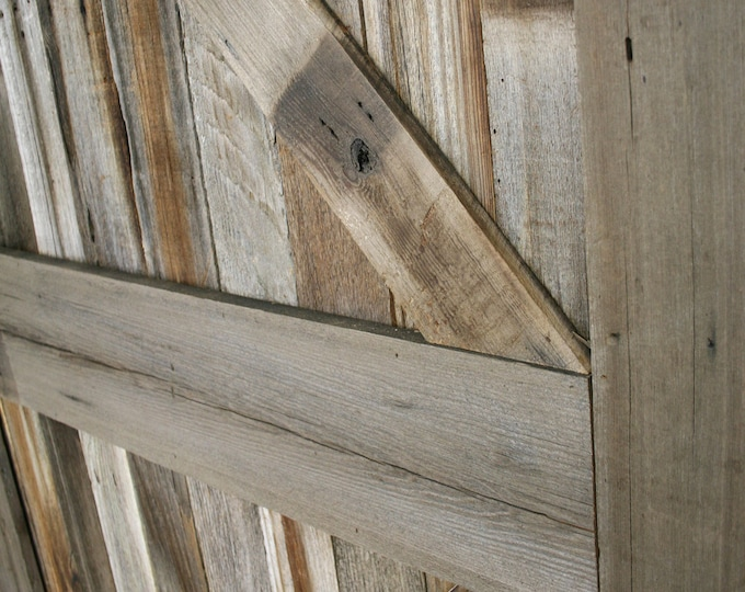 Traditional Barn Wood Door