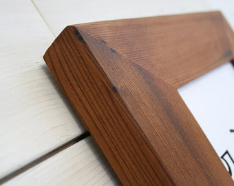"""Reclaimed Redwood Picture Frame - Classic 5"""" 