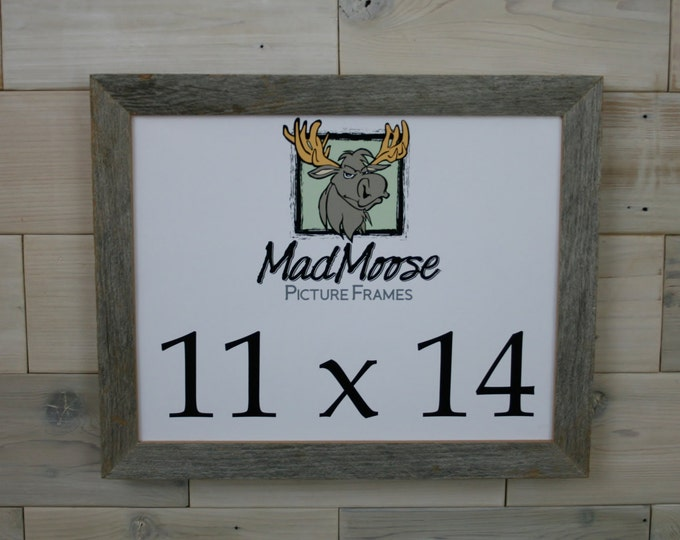 """11x14 Barn Wood Picture Frame Classic-1.25"""""""