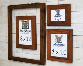 Reclaimed Redwood Picture Frame - Classic 2"
