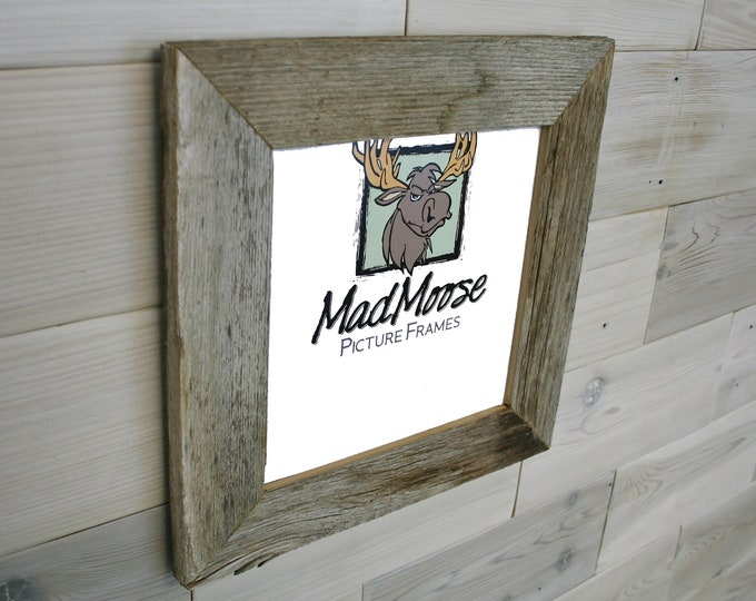 """5x5 BarnWood Picture Frame - Classic 2"""""""