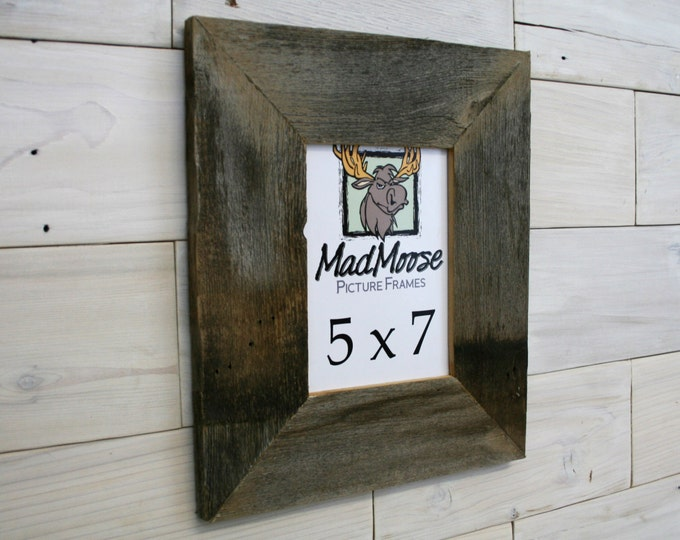 """5x7 BarnWood Picture Frame - Classic 3"""""""