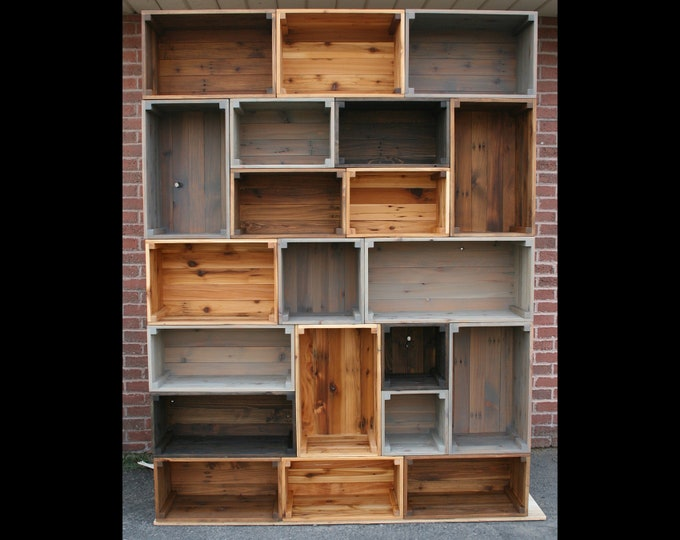 Furniture Elementals | create your own reclaimed wood furniture |