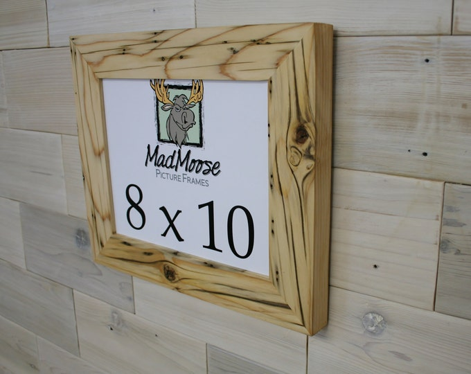 8x10 Reclaimed Wood Picture Frame - Classic 2""