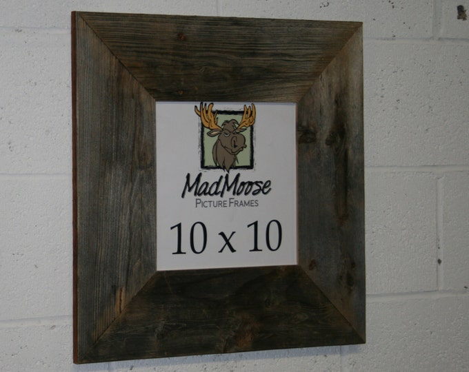 10x10 BarnWood Picture Frame - Classic 5""