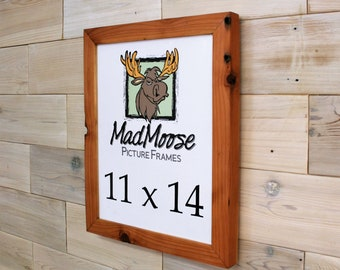 """Reclaimed Redwood Picture Frame Classic-1.25"""" 