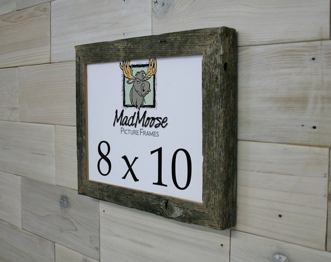 8x10 Barn Wood Picture Frame Classic-1.25""