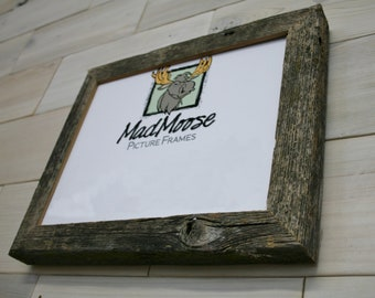 """Barn Wood Picture Frame Classic-1.25"""" 